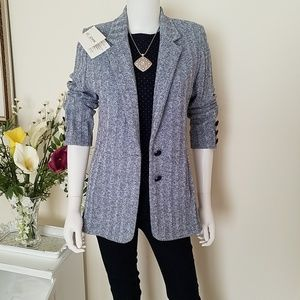St. John Collection Ladies Knit Blazer with Lapels